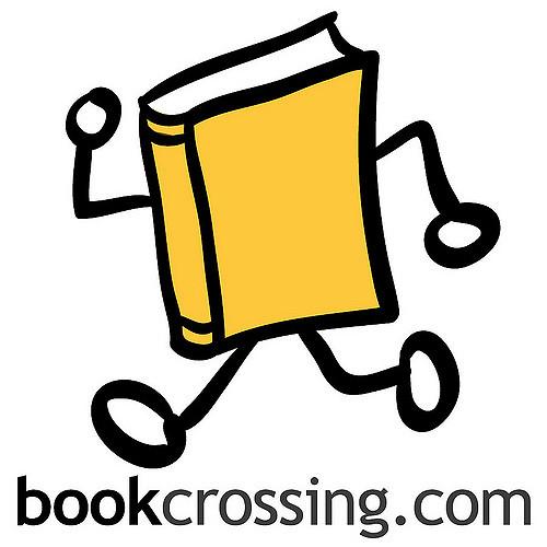 Logo bookcrossing e indirizzo sito