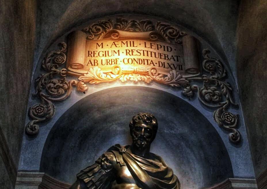 Statua-di-Marco-Emilio-Lepido