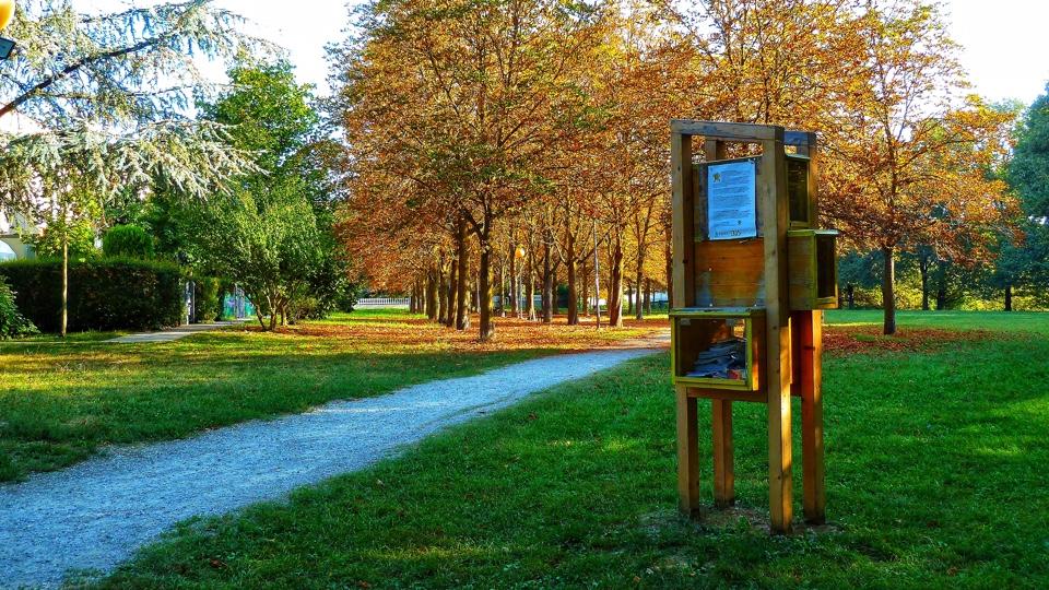 BookCrossing zone al Parco delle Ginestre di Rivalta